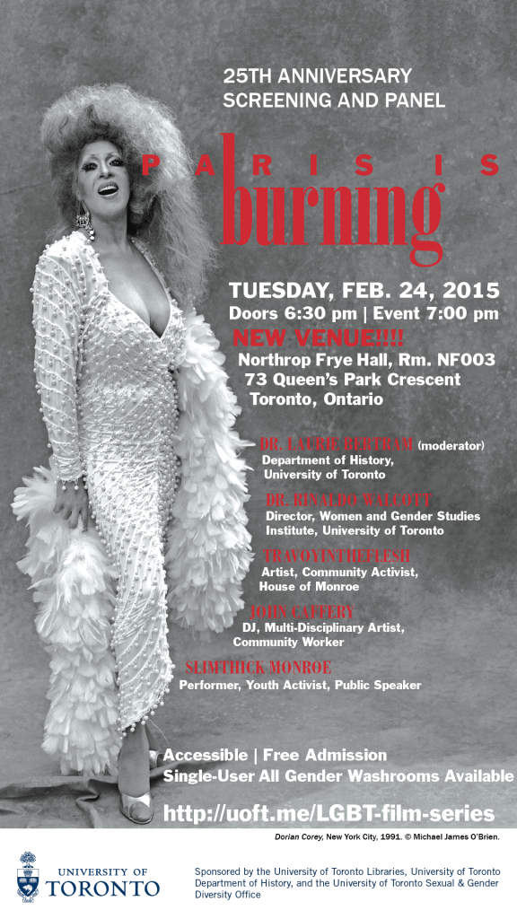 Paris is Burning digital poster updated venue 18-Feb 2015