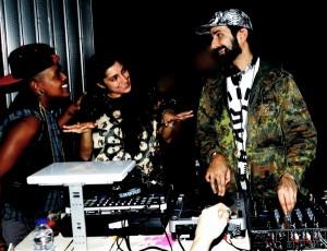 DJs Sammy Royal and Nino Brown