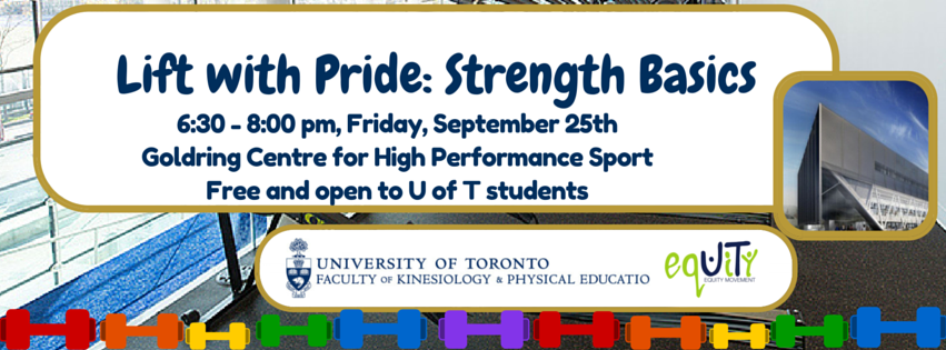 Lift with Pride Strengths Basics ual & Gender Diversity fice