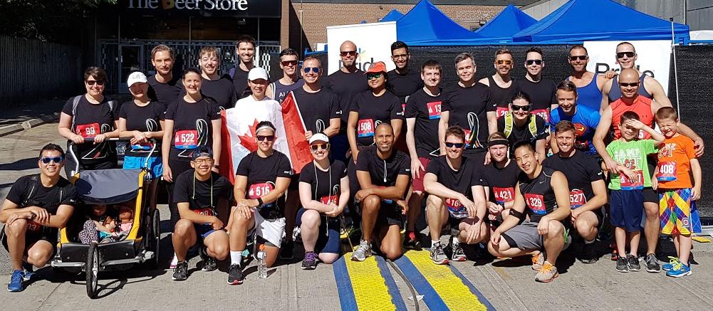 2016 U of T Pride Run Team